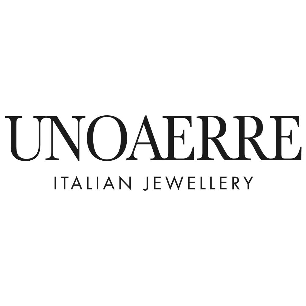 UNOAERRE/ウノアエレ K18 ダブルバー ピアス(イタリア製)