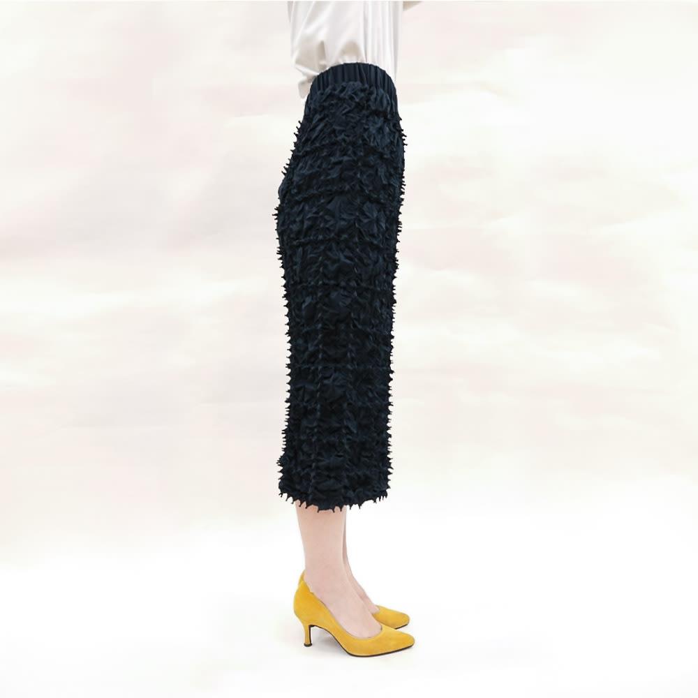 有松絞り Iライン スカート コーディネート例