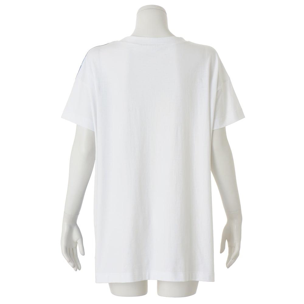 フラワープリント ビッグ Tシャツ INSIDE