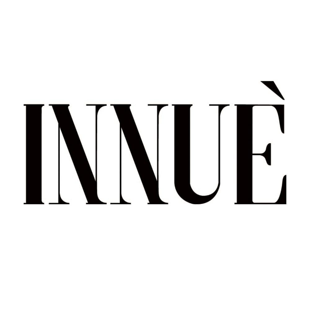 INNUE/イヌエ クロコ型押し ミニボストンバッグ(イタリア製)