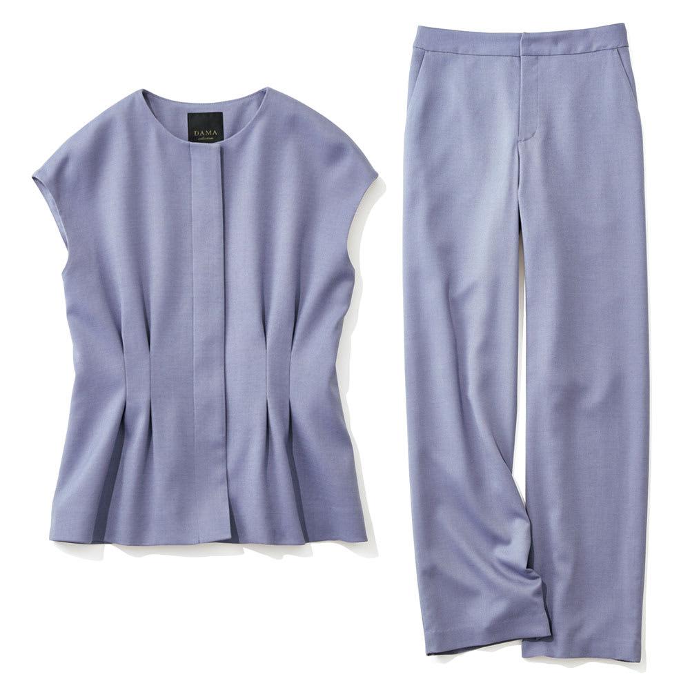 ウール混 ビエラ スーツセット(ジャケット+パンツ) ジャケット+パンツ