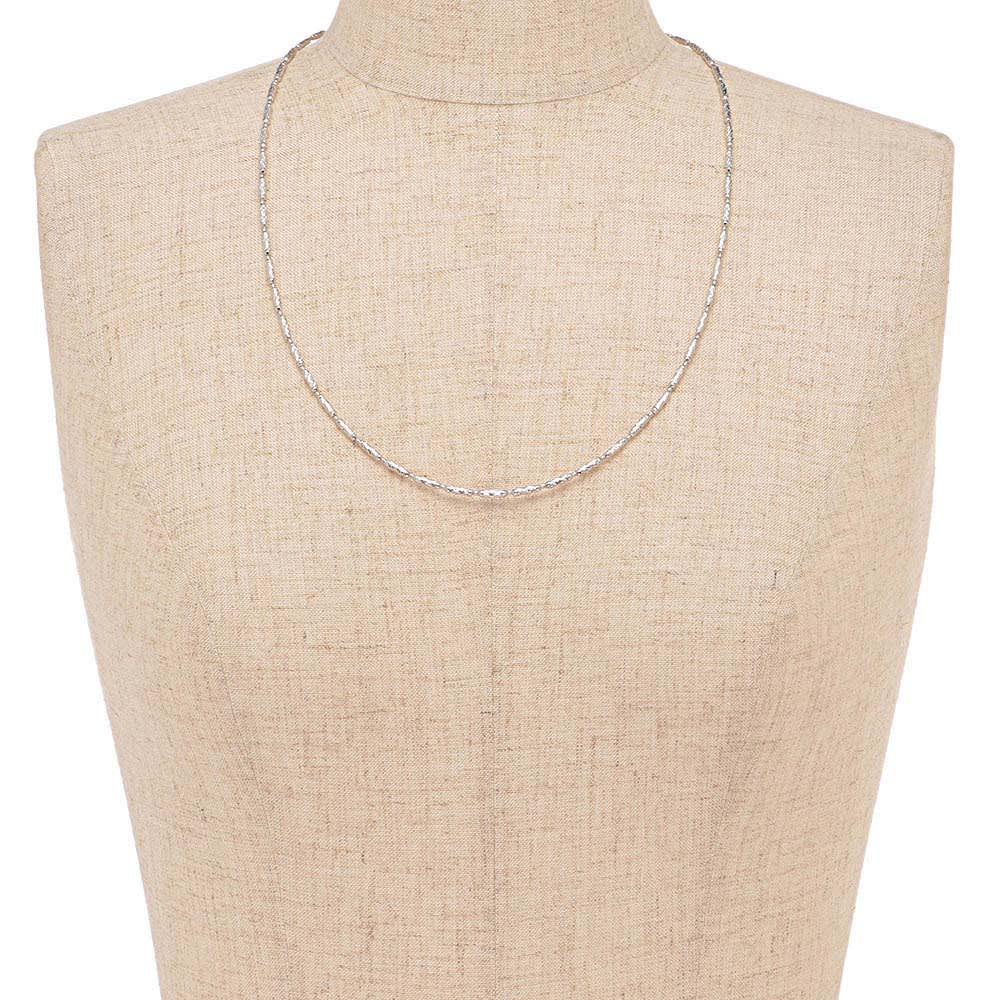 K18 マグネット ネックレス兼ブレスレット (イ)WG 着用例