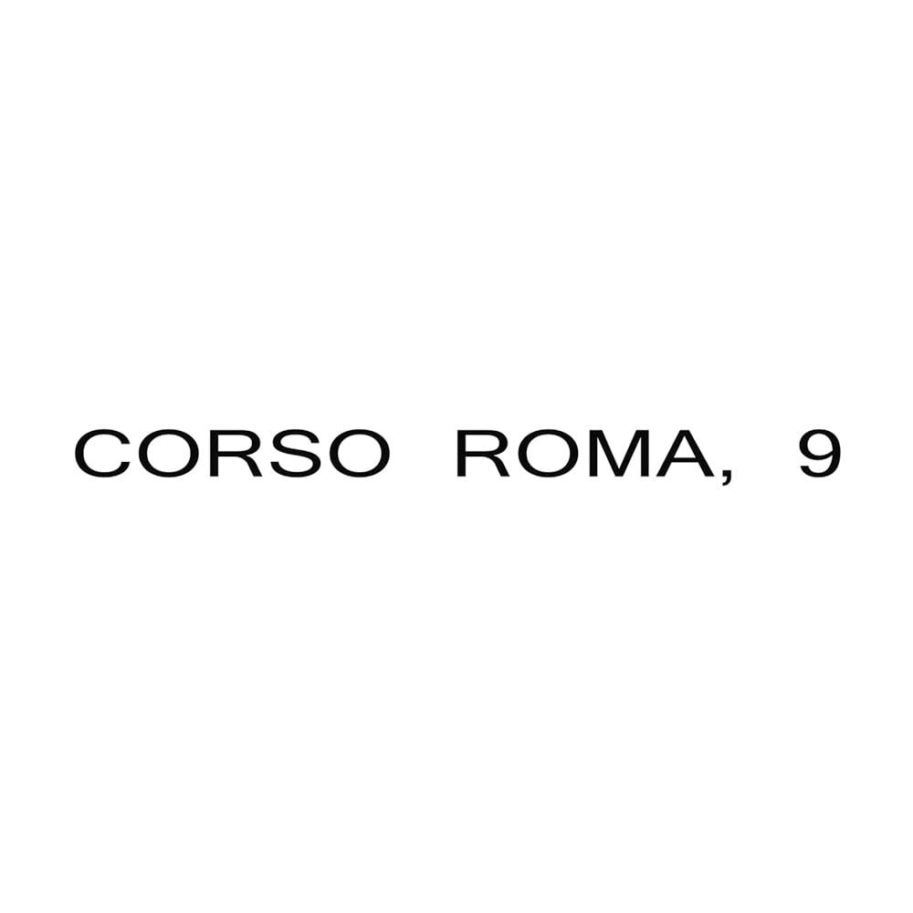 CORSO ROMA,9/コルソローマ ノーヴェ フラット ローファーミュール(イタリア製)