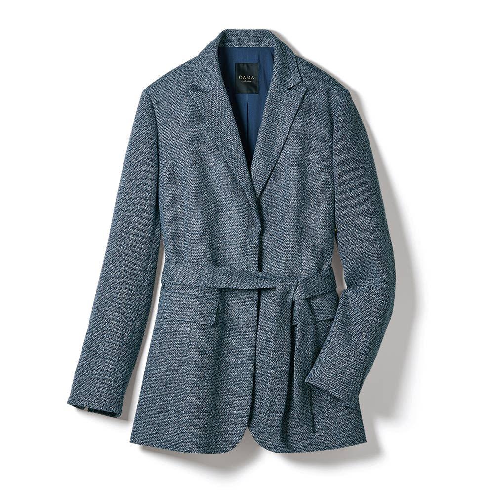 フェルラ社 シルクリネン からみ織 ジャケット