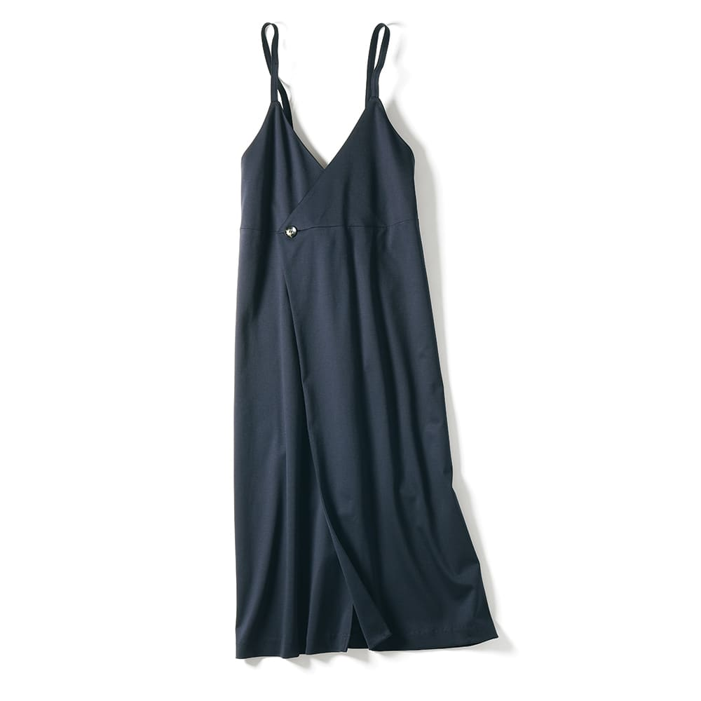 「NIKKE」 ハイゲージコットン スムースジャージー ジャンパースカート
