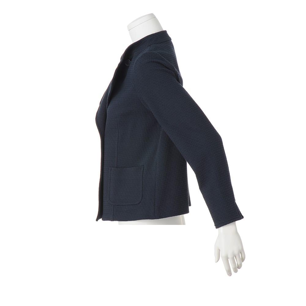 イタリア ジャージー素材 ダブルブレスト ジャケット