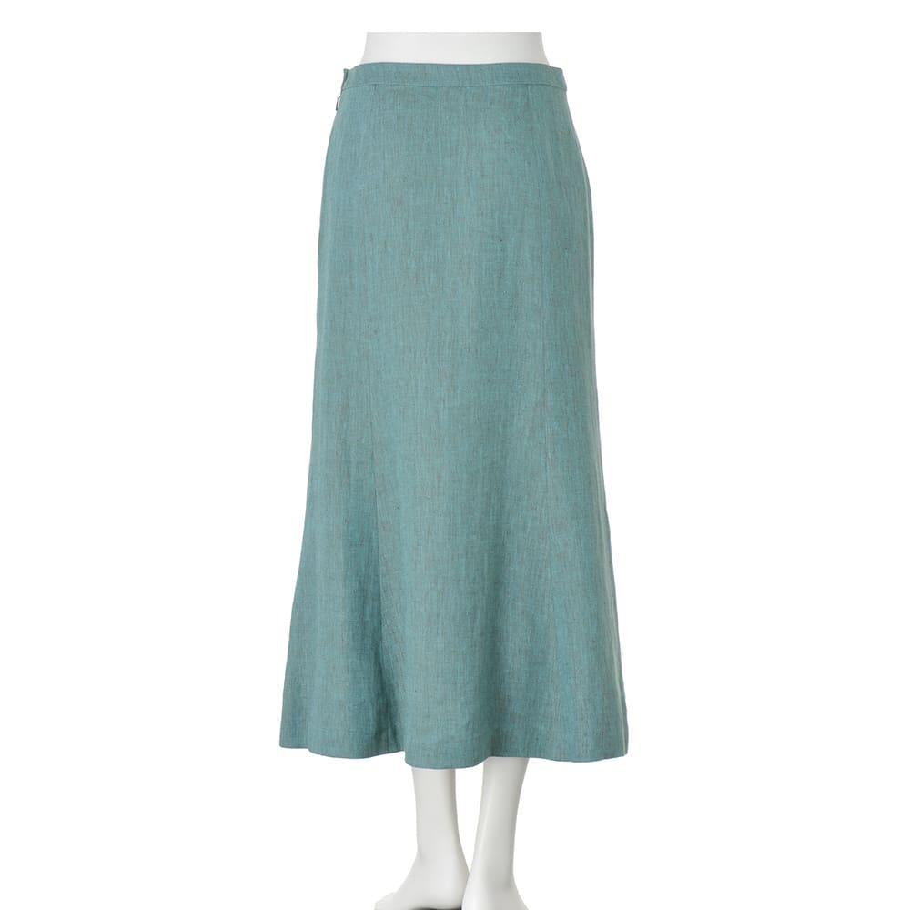 アイリッシュリネン マーメイドスカート