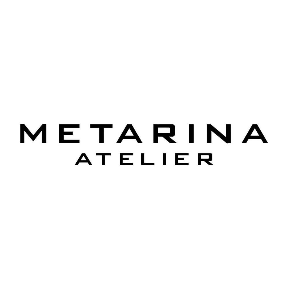 ATELIER METARINA/アトリエ メタリナ ガラスビーズ ロングネックレス
