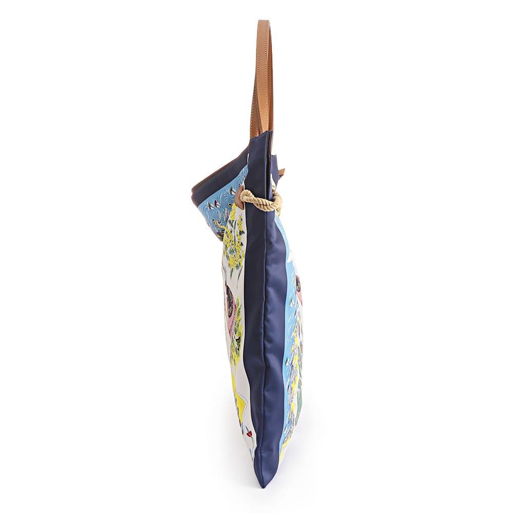 TOPKAPI/トプカピ スカーフ柄 トートバッグ SIDE