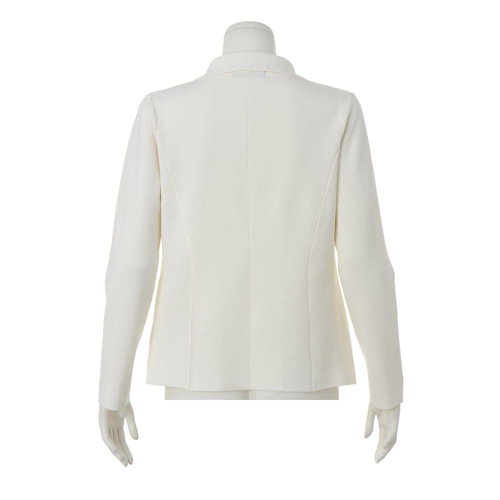 イタリア糸 「エミールコトーニ」 強撚コットン ミラノリブ ニットジャケット