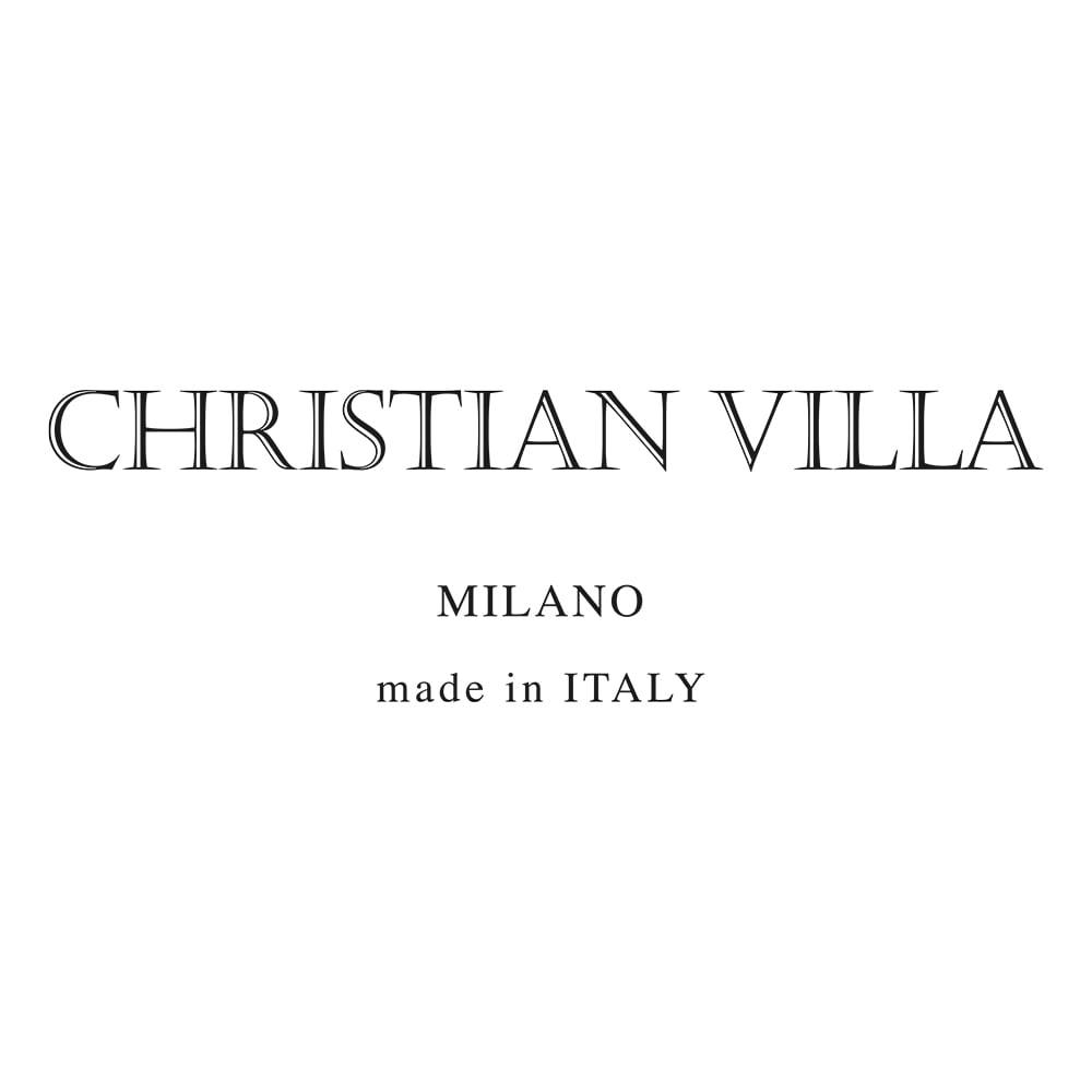 CHRISTIAN VILLA/クリスチャンヴィラ ワイドメッシュ バッグ(イタリア製)