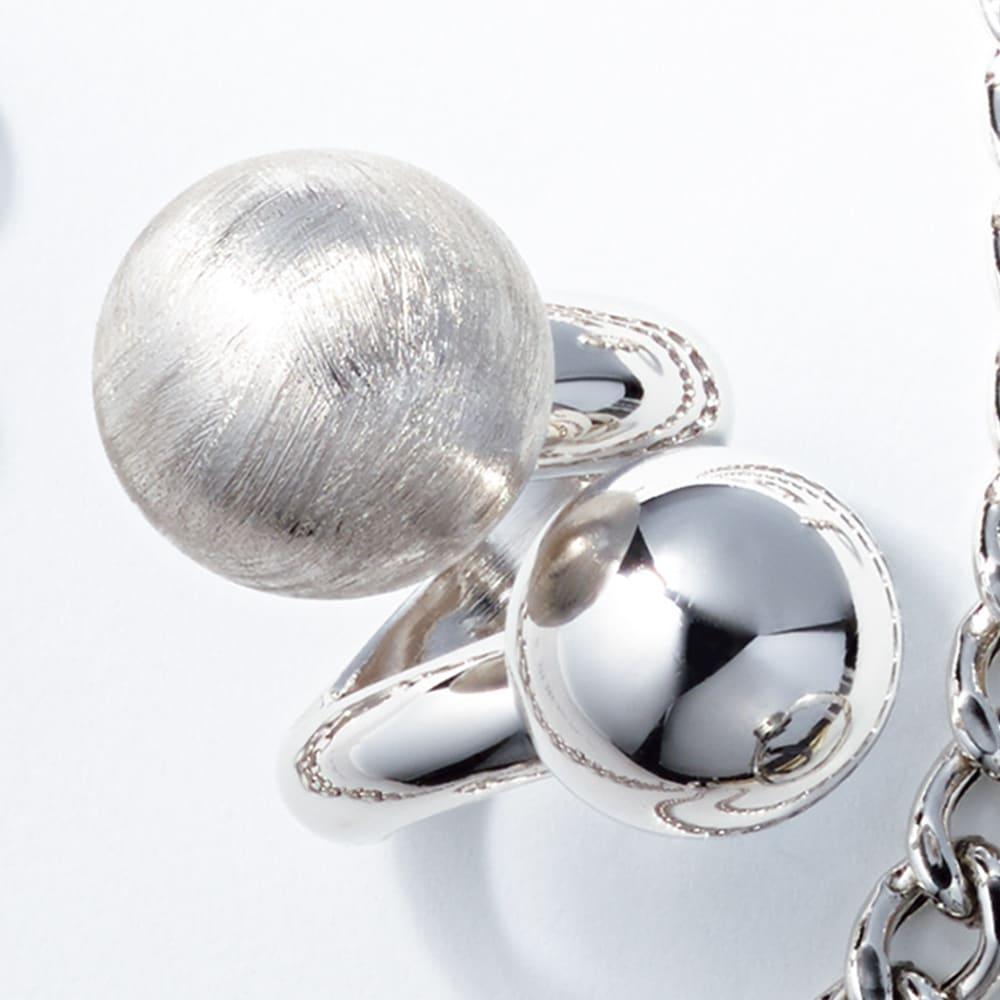 entiere/アンティエーレ SVボリュームリング(イタリア製) レディース ゴールゴケイ M~L リング・指輪