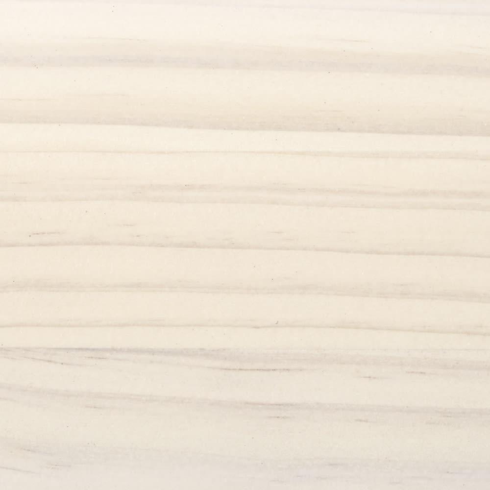 パイン天然木突っ張り式 デコレーション壁面ラック 幅45cm (ウ)ホワイトウォッシュは、うっすらと木目が残る仕上げ。