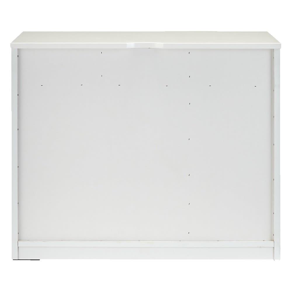 3面鏡ドレッサーシリーズ キャビネット 幅60cm 背面 ※写真はキャビネット幅90cmです。