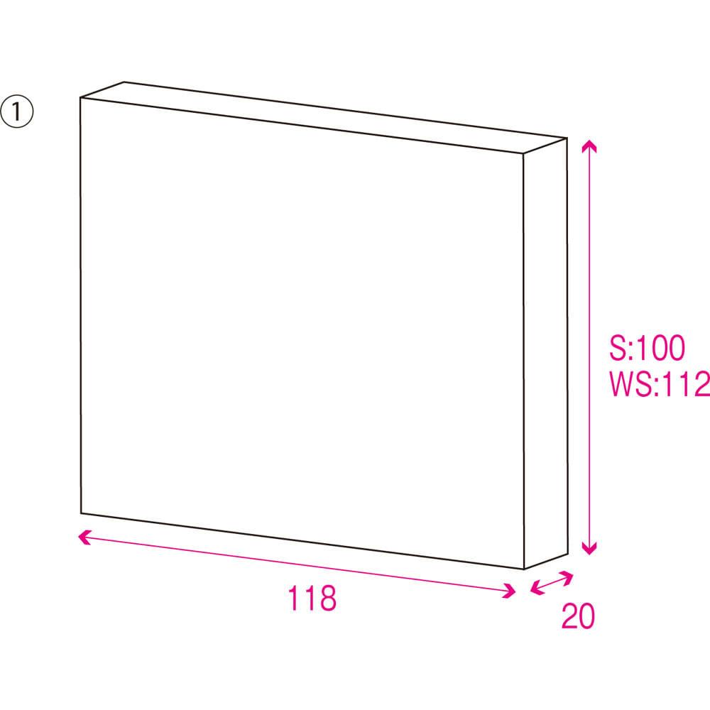 折りたたみ式ひのきすのこベッド シングル 梱包サイズはこちらで事前にご確認いただけます。1梱包にてお届けいたします。