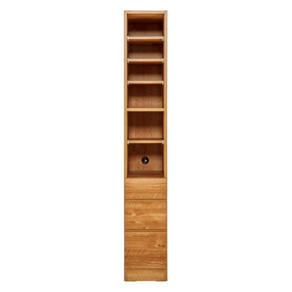 天然木調 リビング壁面収納シリーズ 収納庫 オープン棚タイプ 幅29cm 961307