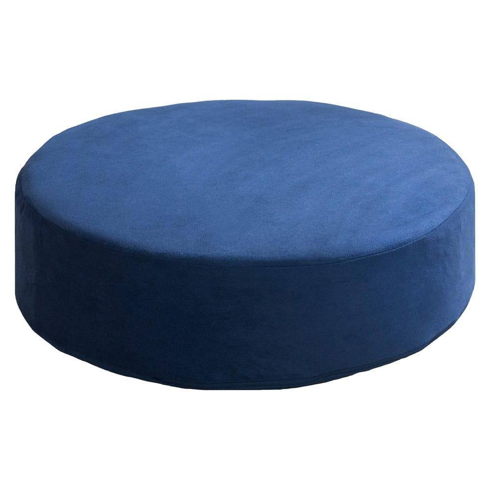 座り心地に自信あり!色が選べる低反発クッション (エ)ブルー