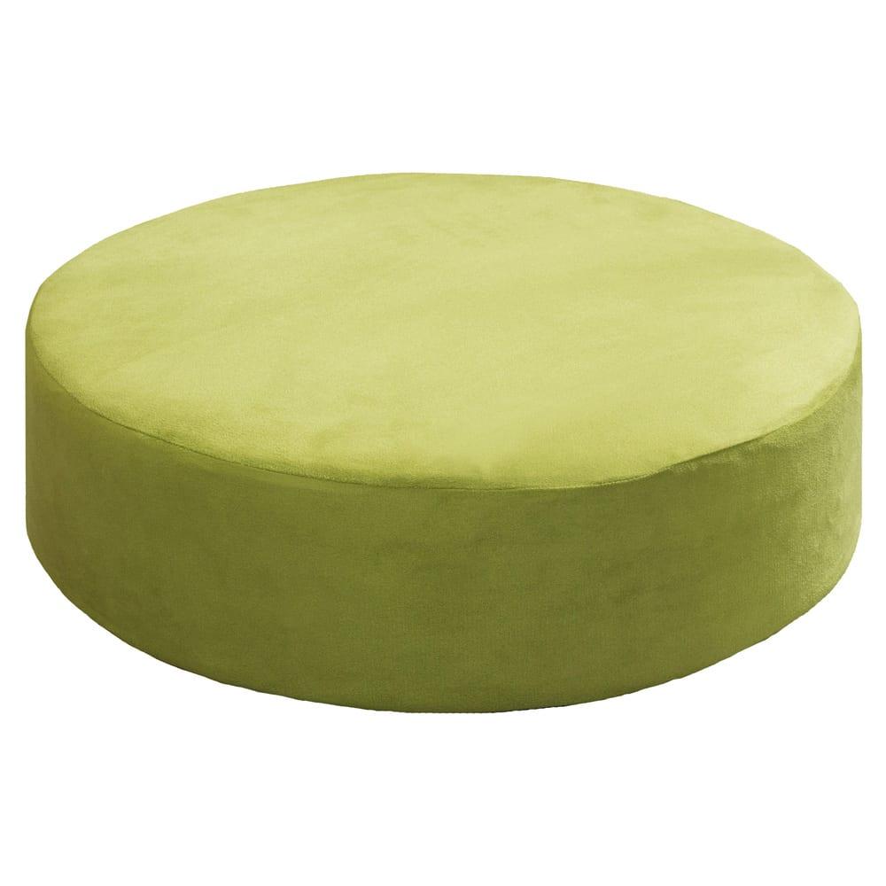座り心地に自信あり!色が選べる低反発クッション (ア)グリーン
