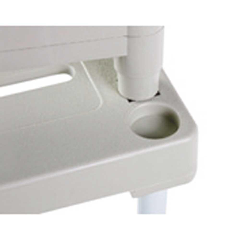 ピタッと伸縮式!押し入れラックロータイプ2台セット 上下に積み重ねやすい仕様。