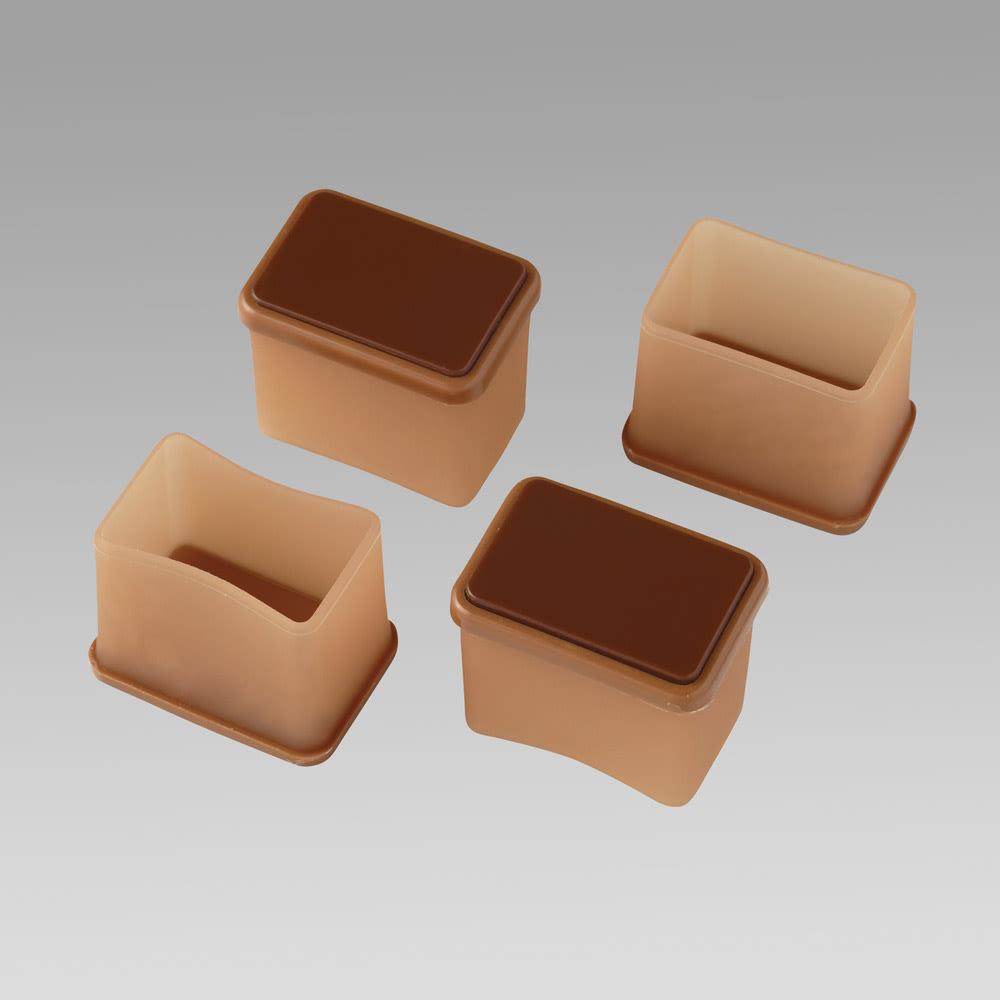 脚ピタキャップ 16個組 長方形S お届けは16個セットです。