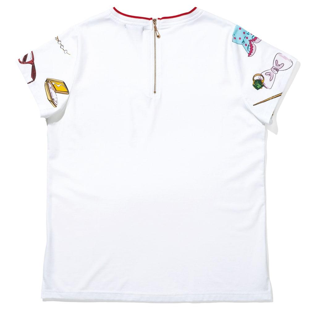 LEO&UGO/レオ&ユーゴ おしゃれモチーフプリント プルオーバー Back Style