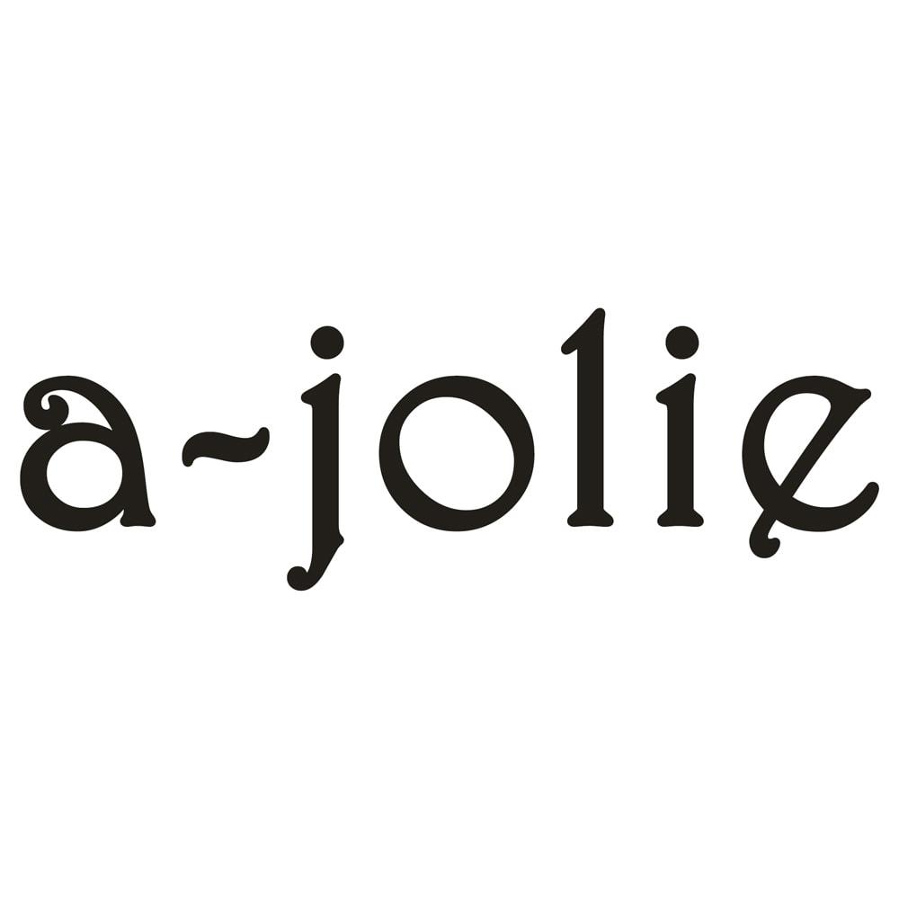 a-jolie/アジョリー メタリックハンドル エコファーバッグ