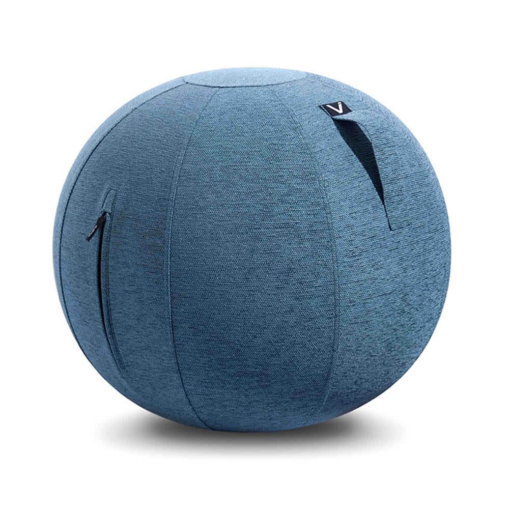 VIVORA/ヴィヴォラ バランスボール ファブリック (ア)ブルー