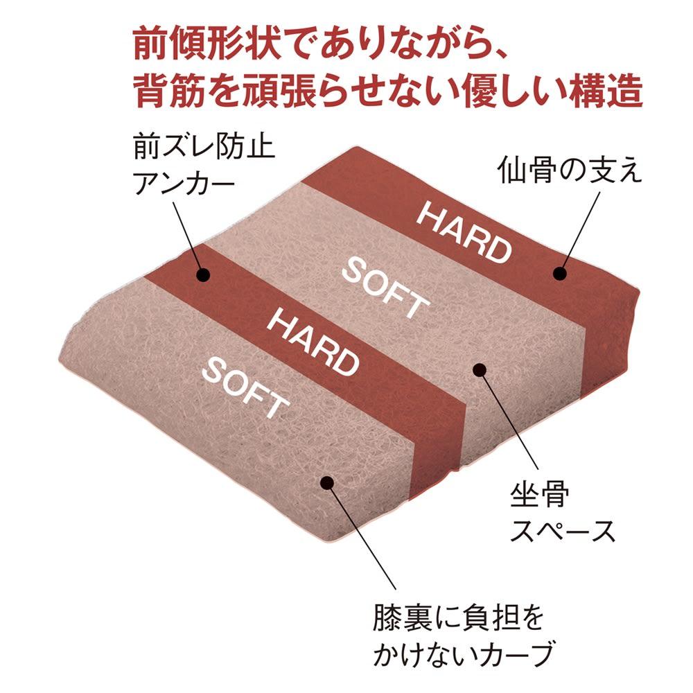 3次元クッション pinto SQUARE(ピントスクエア) 本体+専用カバー2枚付