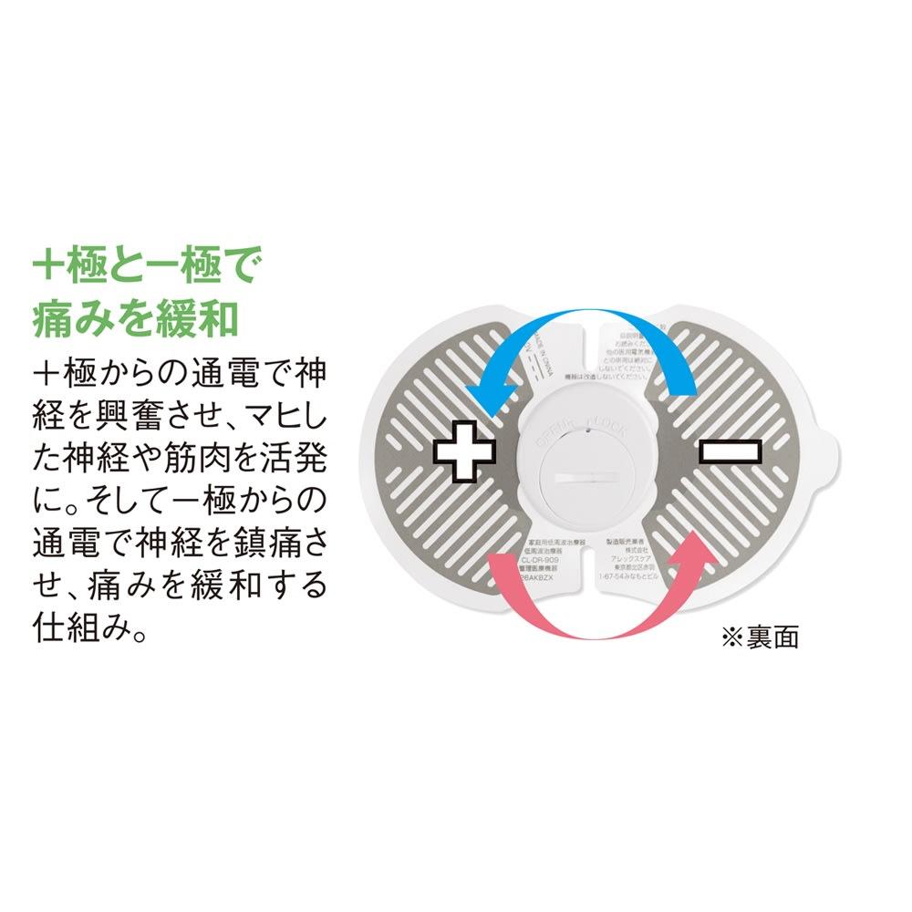 低周波治療器 DR.PAD TENS(ドクターパッド テンス) ディノス特別セット 【本体2枚セット】