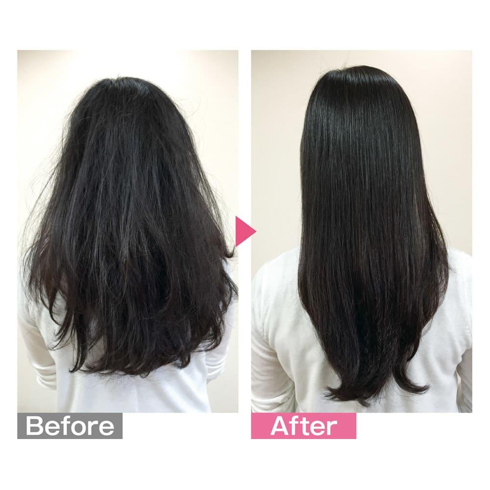 ラブクロム F シルバー ナミ 気になる髪のうねりや広がりがとかすことでさらさらに