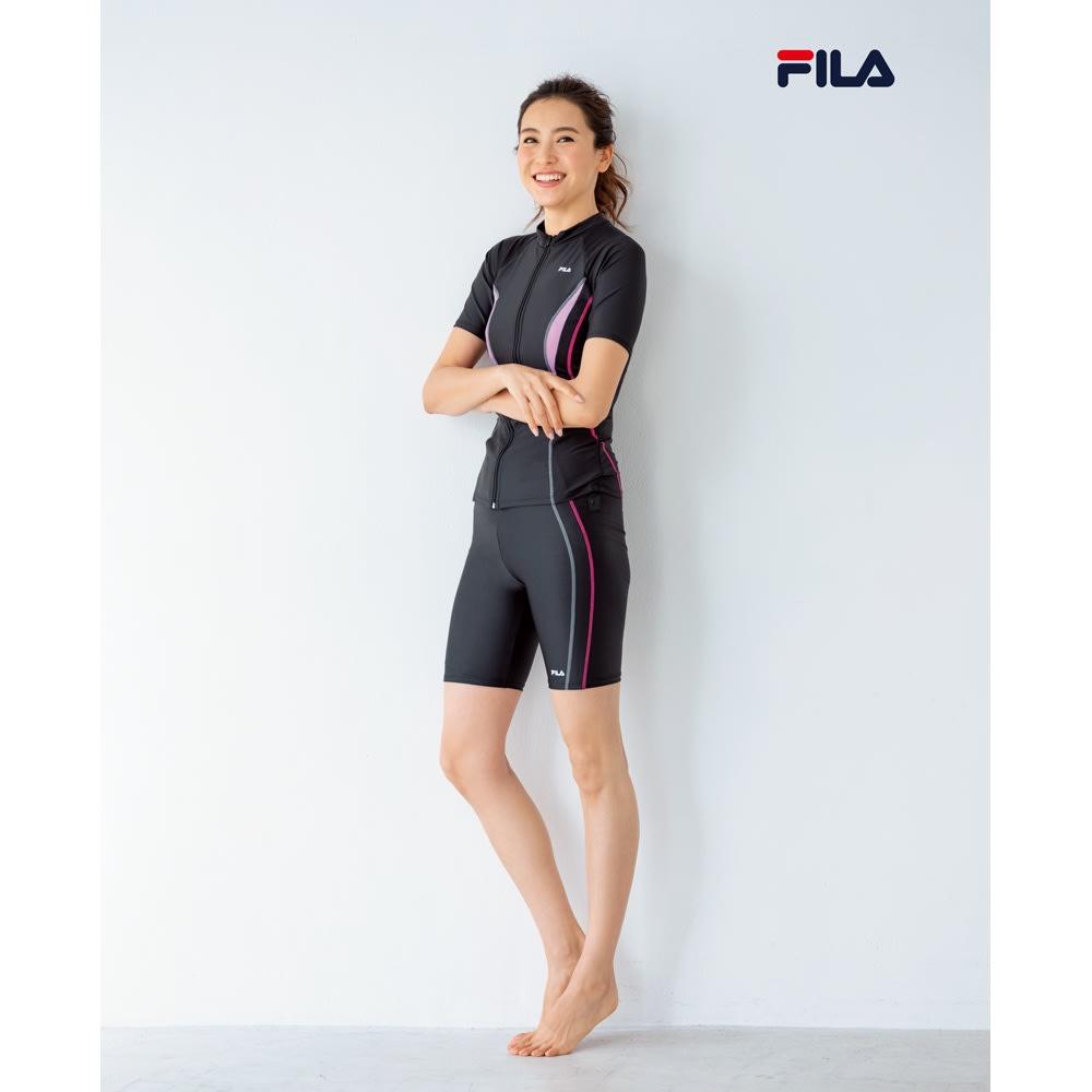 FILA/フィラ フィットネス水着単品 9~13号 (ア)ブラック