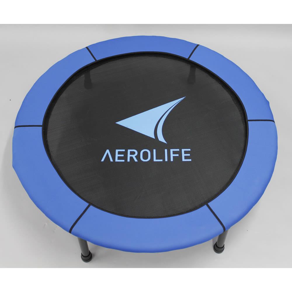 AEROLIFE/エアロライフ ホームジャンピング(折りたたみ式) カバーは、ブルーとグリーンのリバーシブル仕様。