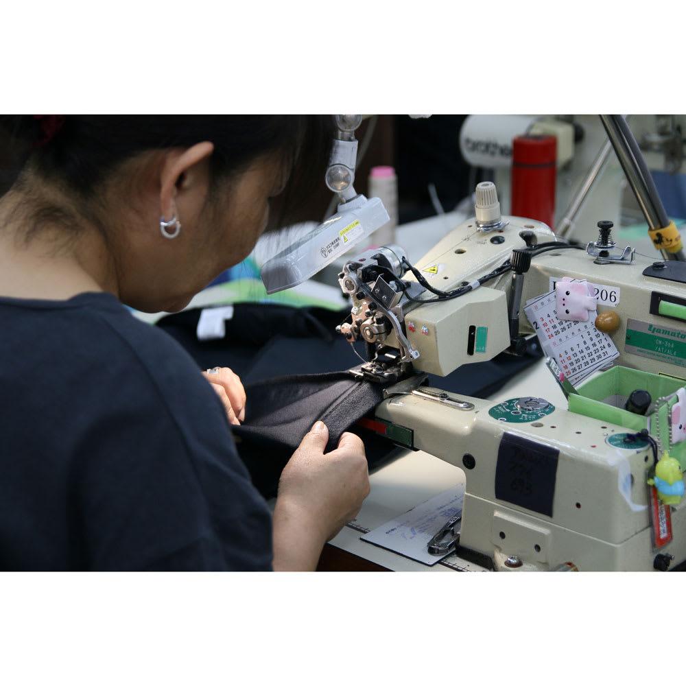 ARIKI/アリキ 耐久はっ水スリット入りパンツ パンツの産地「福山」で作られています