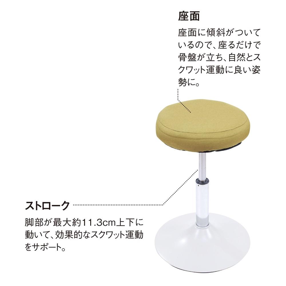 MIZUNO/ミズノ スクワットスリール (ア)オリーブイエロー