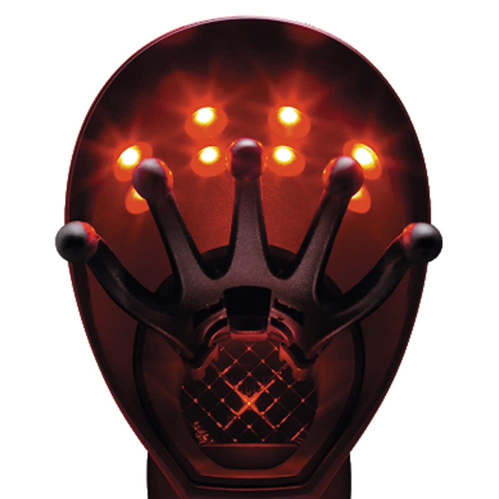 アデランス ヘアドライヤー N-LED Sonic【HairRepro / ヘアリプロ】 赤色LEDとプラズマクラスター 2つの技術を髪と頭皮へ N-LED beam(R)を搭載 髪と頭皮のプロフェッショナル、アデランスが研究・開発したN-LED beam(R)を搭載。先端部分に8つの光源を設置して、ドライヤーの風とともに髪と頭皮へ届けます。