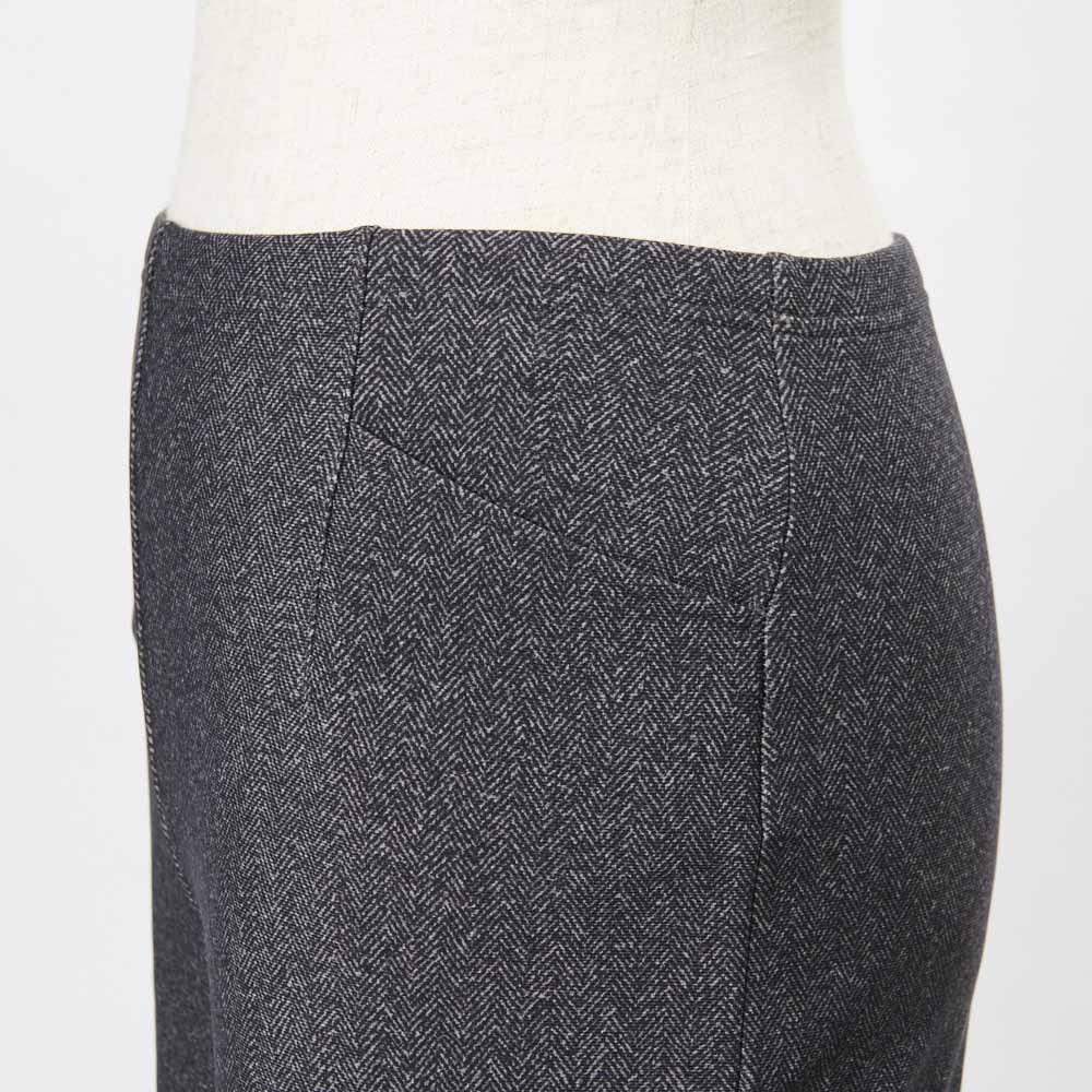 ARIKI/アリキ 裏起毛プリントストレートパンツ(選べる股下2丈) 便利な前ポケット2個