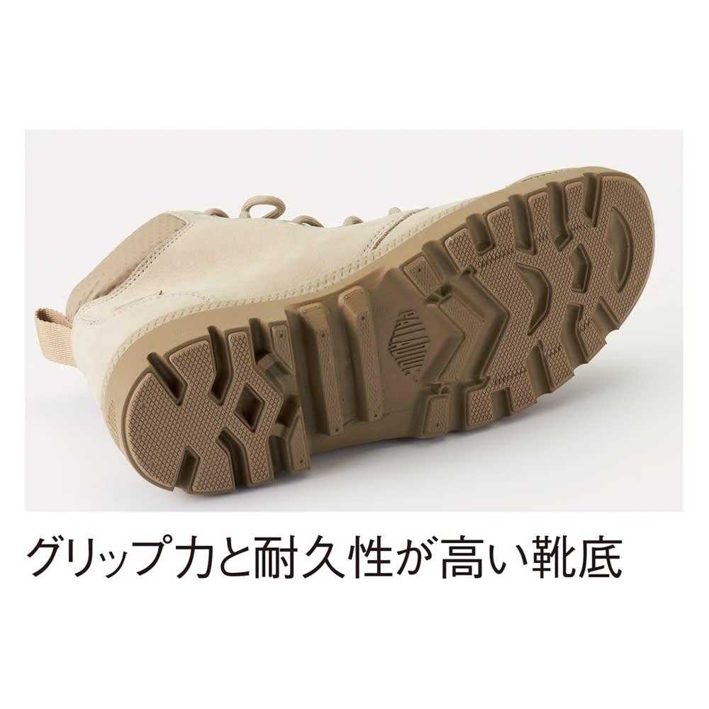 PALLADIUM/パラディウム 防水レザーブーツ パンパLite+カフWP ※こちらの画像は実際の商品と履き口の色が異なります。