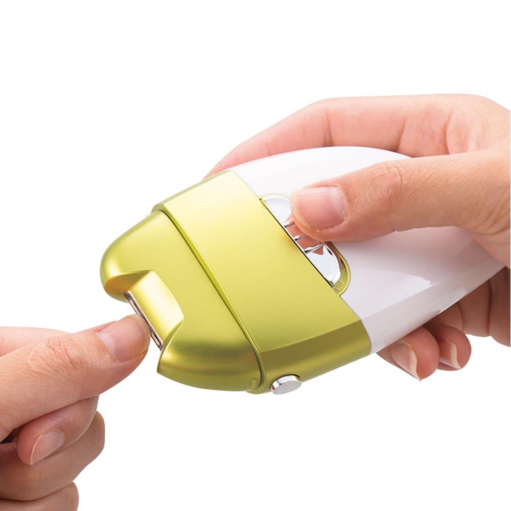 電動爪削り Leaf M80717