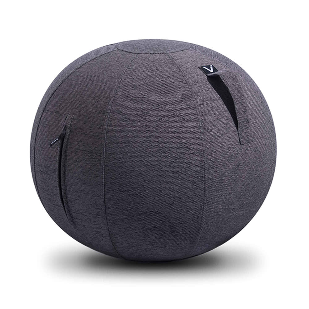 VIVORA/ヴィヴォラ バランスボール ファブリック (イ)チャコールグレー