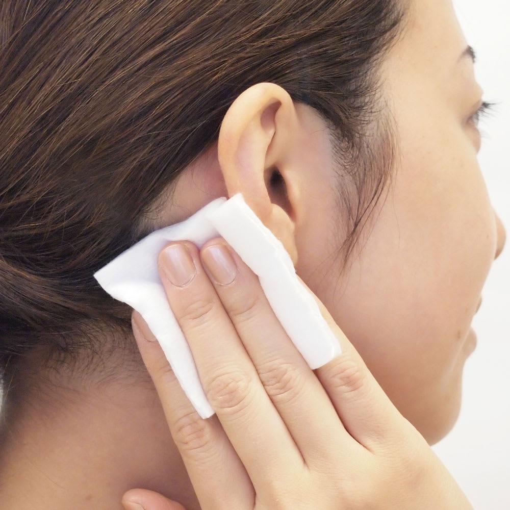 かづきれいこ デザインテープ(イージータイプ)(使い方DVD付) 【テープの貼り方】テープを貼る部分の肌の油分や水分をあらかじめふきとっておくと、テープが粘着しやすくなります。