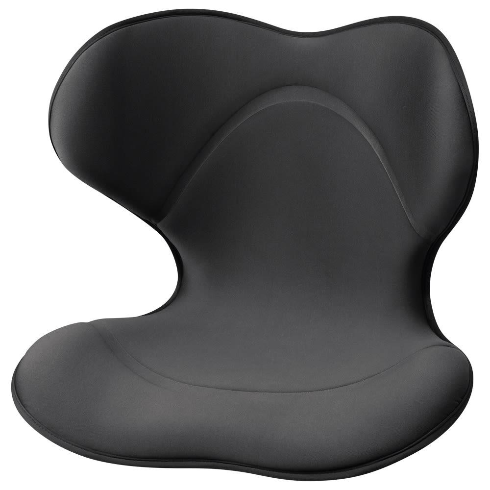 姿勢サポートチェアシート スタイルスマート (ウ)ブラック