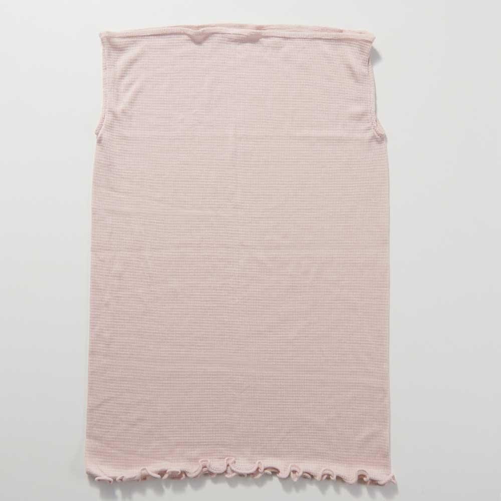 天使のカッペリーニシルク おやすみロングマスク 選べる2枚組(日本製) (ウ)ピンク