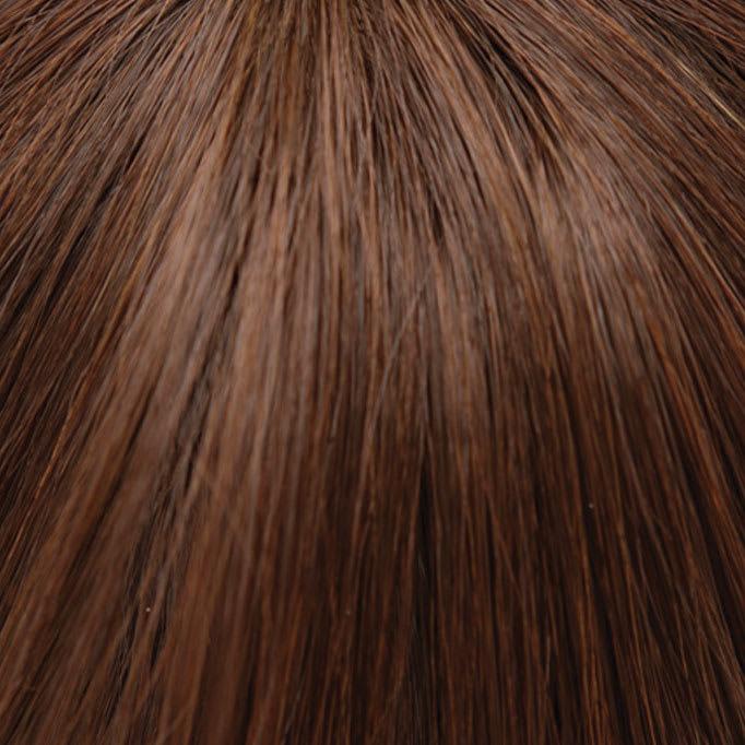 坂巻哲也ヘアコサージュ リラクシーカールボブ 地毛と馴染みのよい人毛と人工毛のMIX。肌うつりがよい絶妙カラーブレンド。