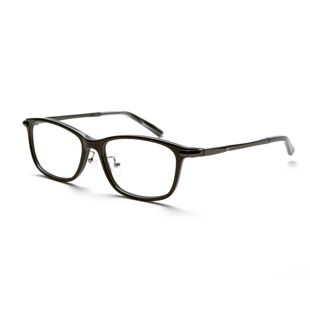累進多焦点レンズ搭載のシニアグラス「ピントグラス」 (イ)ブラック