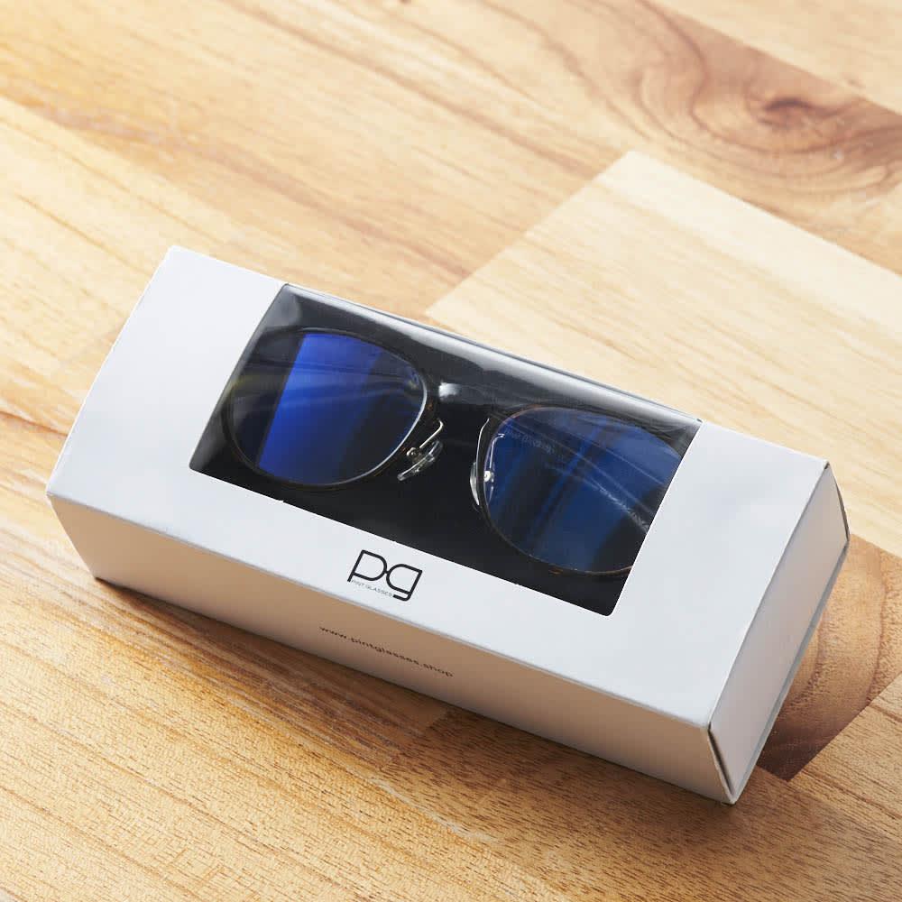 累進多焦点レンズ搭載のシニアグラス「ピントグラス」 贈り物にも嬉しい「化粧箱」入りです。