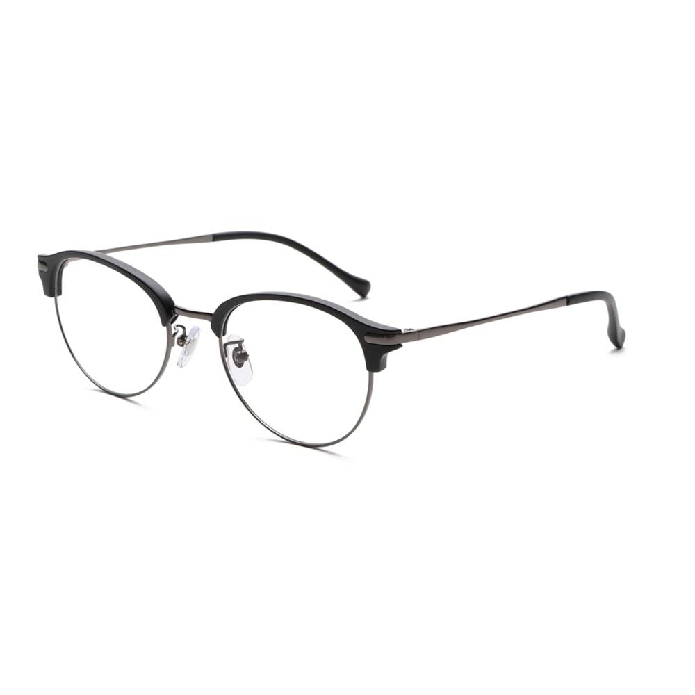 累進多焦点レンズ搭載のシニアグラス「ピントグラス」 (オ)マットブラック(軽度) 軽度の度数も新登場