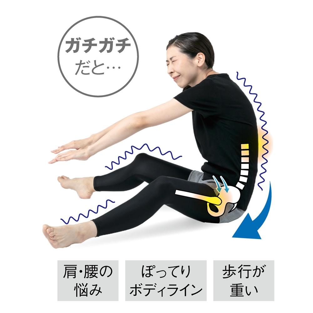 柔ら美人 開脚ベターイージースリム 【座ることで骨盤周りを整った位置に】 自力ではなかなか辛い股関節周りのストレッチが正しいフォームで簡単にできます。骨盤周りが立つので可動域が広がり効率的なエクササイズに!