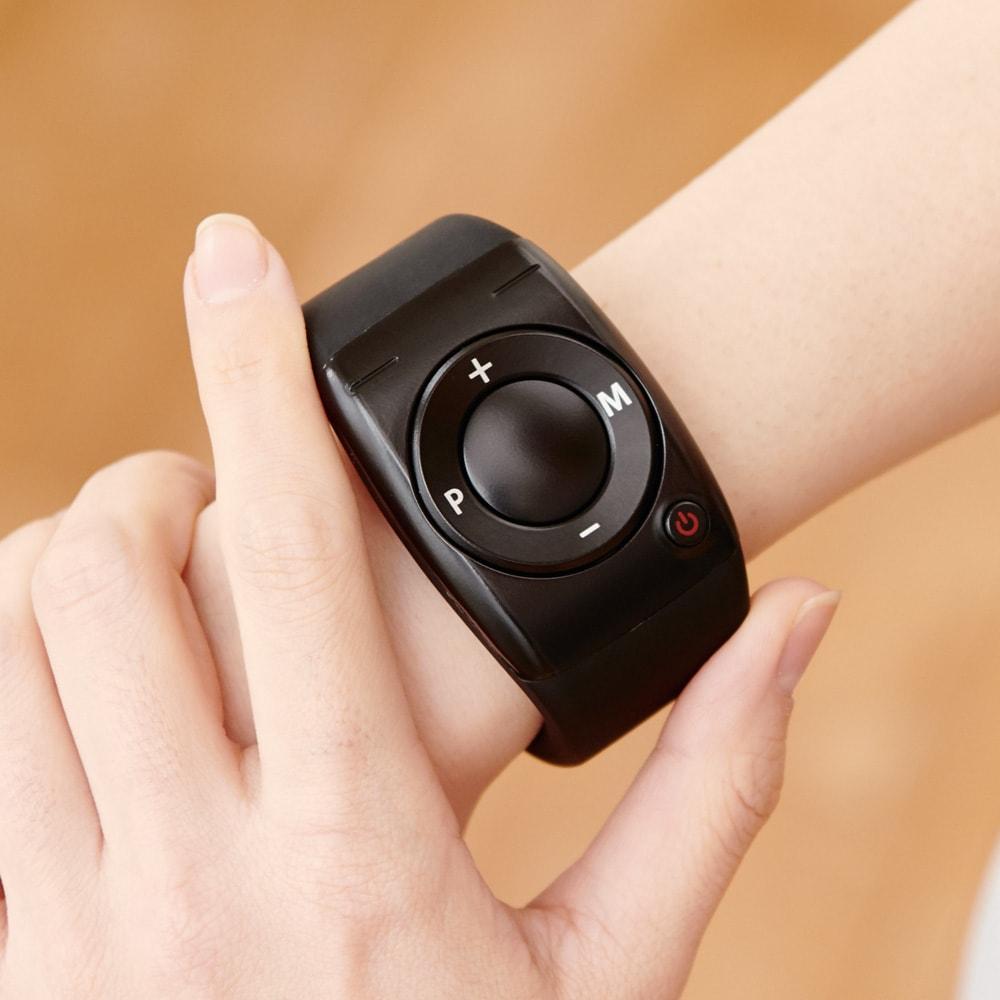 【送料無料】ルルド シェイプアップボード [手もとで操作できるワイヤレスコントローラー] 手首に装着できるから、トレーニング中の操作もストレスフリー。