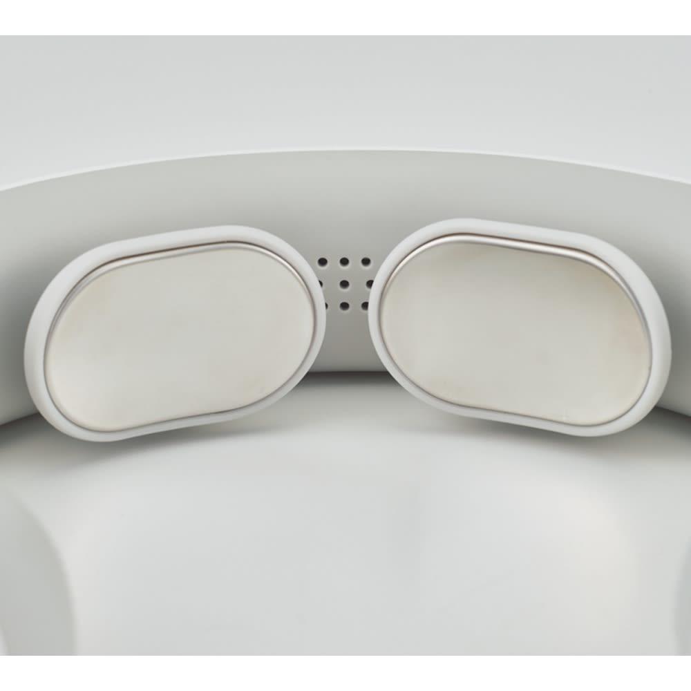 NIPLUX ネック リラックス/NECK RELAX お手入れもラクラク 普段は通電・温熱パッドを拭くだけでOK。お手入れの手間もかかりません。