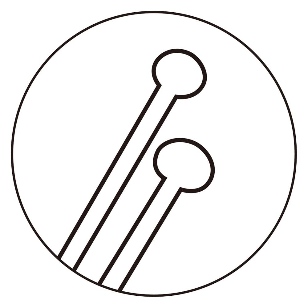 スカルプブラシ ショート 長いピンと短いピンを組み合わせることで、毛穴の汚れを取りながら、頭皮を心地良く刺激してくれます。